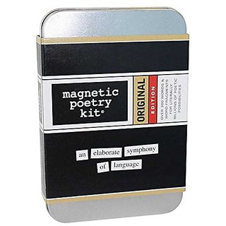Magnetic Poetry - Original Kit - All the Essential Words For Your Refrigerator - Write Poems and Letters on the Fridge