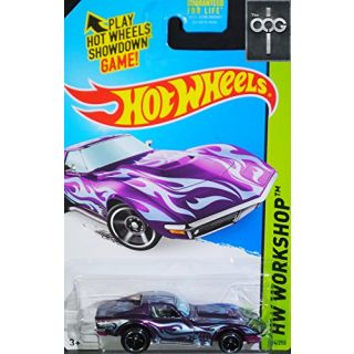 Hot Wheels 69 Corvette Super Treasure Hunt 2014