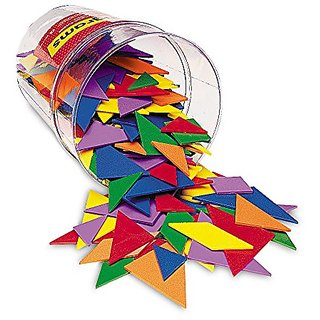 Learning Resources Classpack Tangrams (Set of 30) 6 Colors