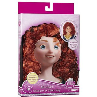 Disney Princess Merida Shimmer & Shine Role Play Wig