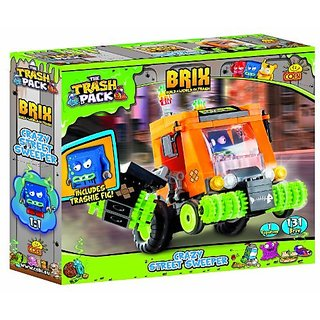 Build a new adventure with COBI construction sets (each sold separately)-Build the Crazy Street Sweeper from specially