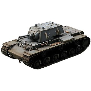 Easy Model KV-1 Model 1941 Heavy, A captured KV-1 of the 8th Panzer Division Die Cast Military Land Vehicles