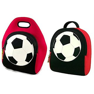 Dabbawalla Bags Soccer (Game On) Kids Backpack and Lunch Bag Gift Set ...