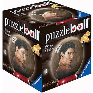Twilight: New Moon Jacob Black 60 Piece 3D-Puzzleball