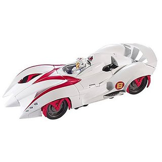 Mattel Speed Racer Hero Battle Morph Mach 6