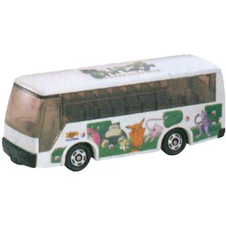 Takara Tomy Tomica #038 Pocket Monster Bus Isuzu Hi-Decker Bus