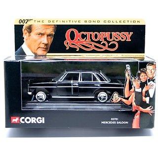 MERCEDES SALOON OCTOPUSSY 2001 Corgi Classics 007 The Definitive James Bond Collection 1:36 Scale Die-Cast Vehicle