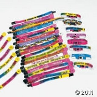 Nylon Religious Friendship Bracelet Mega Assortment (150 pc)