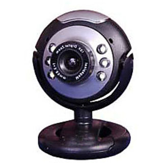 Quantum 25 MP 6 LED Webcam W/Mic
