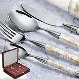 Awkenox Aquarius Cutlery Stainless Steel 16pc Set
