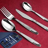 Awkenox Lysbon Cutlery Stainless Steel 24pc Set