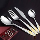 Awkenox Opal Cutlery  Stainless Steel 24pc Set