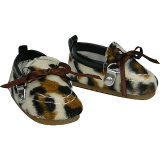 18 Inch Doll Shoes, Cheetah Moccasins for the 18 Inch American Girl Dolls & More! Cheetah Moccasins