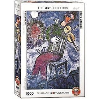 EuroGraphics Marc Chagall Le Violoniste Bleu Puzzle (1000 Piece)