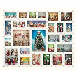 Springbok Puzzles Santas World Hallmark Keepsake Jigsaw Puzzle (1000 Piece)