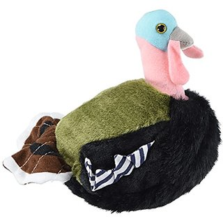 Wild Turkey - Audubon Plush Bird (Authentic Bird Sound)