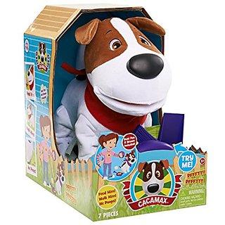 Club Petz CaCa Max Animated Dog Plush
