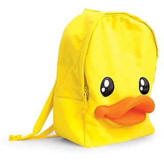 B.Duck 3D Duck Beak Backpack, Yellow