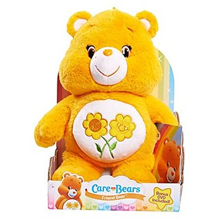 Care Bears Friend Medium Plush with DVD