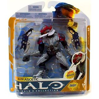 McFarlane Toys Action Figure - Halo Series 8 - ELITE ASCETIC (SILVER)