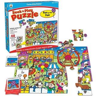 Carson-Dellosa Publishing Fun at the Fair, Seek and Play Puzzle