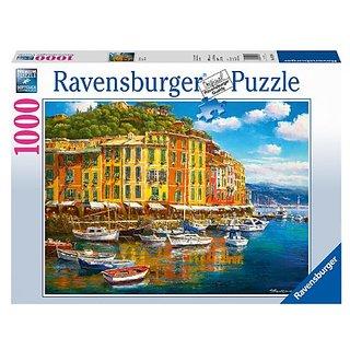 Sunny Harbor Jigsaw Puzzle, 1000-Piece