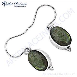 Hot Sale Fashion & Latest Labradorite Silver Earrings