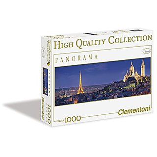 Clementoni Soiree a Paris 1000 Piece Panorama Jigsaw Puzzle