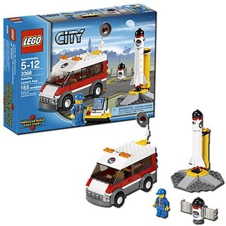 Launch the satellite into orbit!-Includes technician minifigure-Truck and satellite included-Control the launch of the