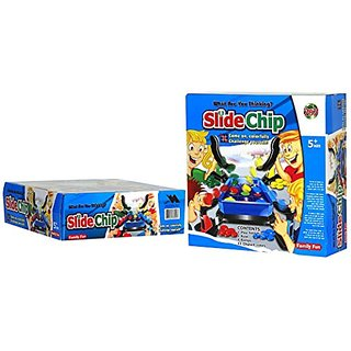Fun Slide Chip Shooting Board Games for Children and Adults, Family Game Night - ACOPLAY.