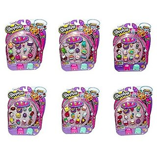 Shopkins Season 5 12 Pack Case of 6 Bundle (6x12 - 72 Pieces)