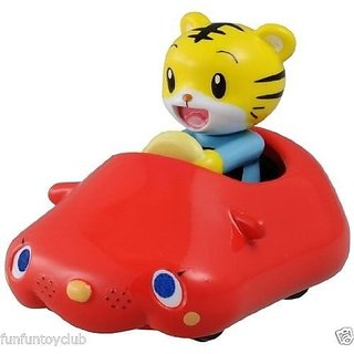 Tomy Dream Tomica Shimajiro & Beepy Tiger mini car 4.5cm