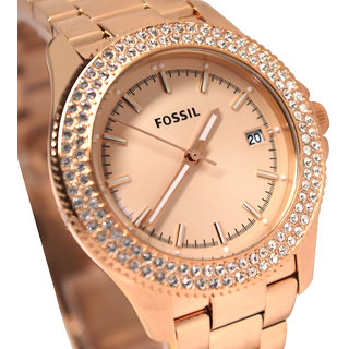 Ladies Fossil Retro Traveller Watch AM4454