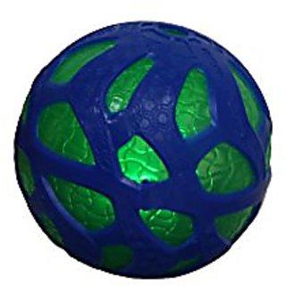 Reactorz Light-Up Micro Gripz Ball, Blue