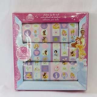 288 Disney Princess stickers-Stickers by the roll