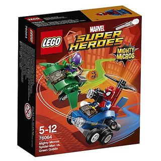 Japan LEGO - Lego Super Heroes Mighty Micro: Spider-Man VS Green Goblin 76064 AF27-w tracking by Jp post