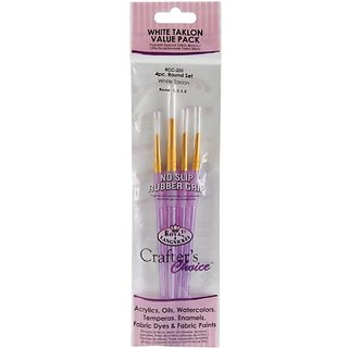 Royal Crafters Choice Brush Set White Talkon Round 220