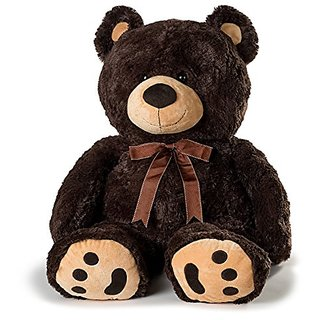 Huge Teddy Bear - Dark Brown