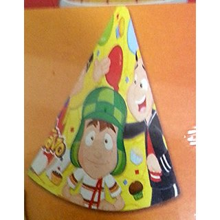 El Chavo del Ocho Party Hats Favors Birthday Quico Decoration