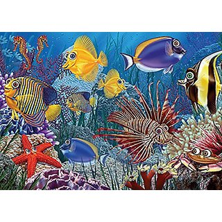 Do Fish Ever Sleep, A 35-Piece Tray Puzzle by Cobble Hill