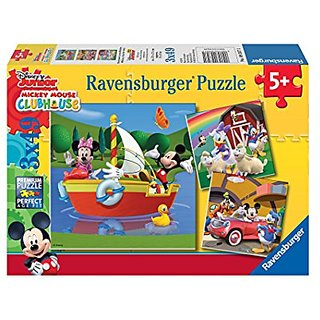 Ravensburger 09357 Mickey and Minnie: Everyone Loves Mickey (60 pc)