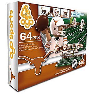 64pc buildable Field (Includes 1 goal post)-Quick-ClickTM guides for easy building-Includes: 3 character minifigures wi