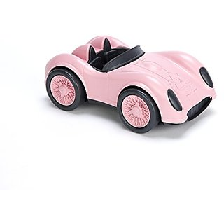 Green Toys Race Car, Pink