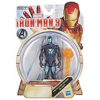 Iron Man 3 Hydro Shock Iron Man 3.75 inch Action Figure by Hasbro