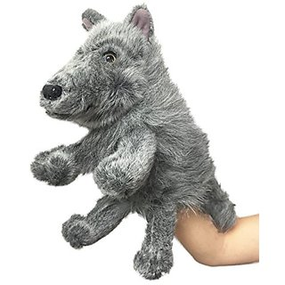 Rittle Furry Wolf, Cute High Quality Plush Hand Puppet - 12