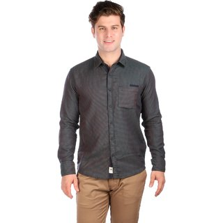 Donear NXG Grey Coloured Casual Shirt