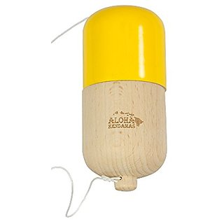 Aloha Kendamas Pill Kendama Glossy Yellow