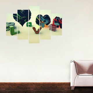 Impression Wall Love PVC Printed Wall Sticker