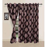 Deal Wala Pack Of 2 Big Dots Design Door Curtain{sp12}