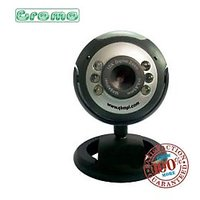 ADnet 6 LED Night Vision USB 25 MP Webcam With Microphone